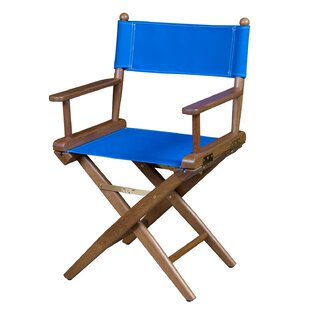 Whitecap Industries Folding Directors Chair with Cushion