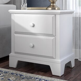 Cedar Drive 2 Drawer Nightstand by Darby Home Co