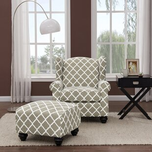 Shopping for Roselle Armchair and Ottoman by Alcott Hill Reviews (2019) & Buyer's Guide