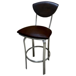 Mccracken 30'' Swivel Bar Stool Latitude Run