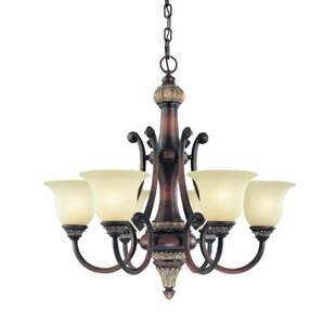 Dolan Designs Bonita 6-Light Shaded Chandelier