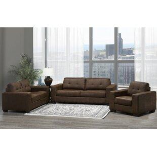 Aya 3 Piece Living Room Set (Set of 3) by Ebern Designs