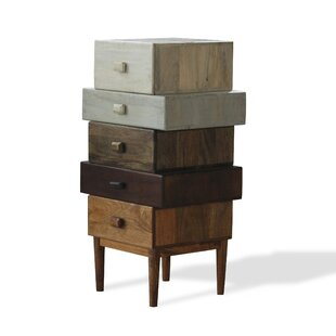 Sandler Wood 5 Drawer Chest by..