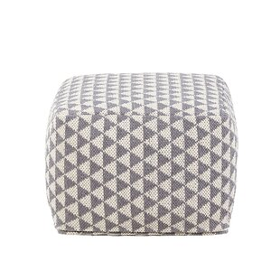 Adrik Triangles Pouffe By Hashtag Home