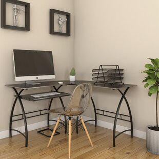 Ebern Designs Raya L-Shaped Computer Desk