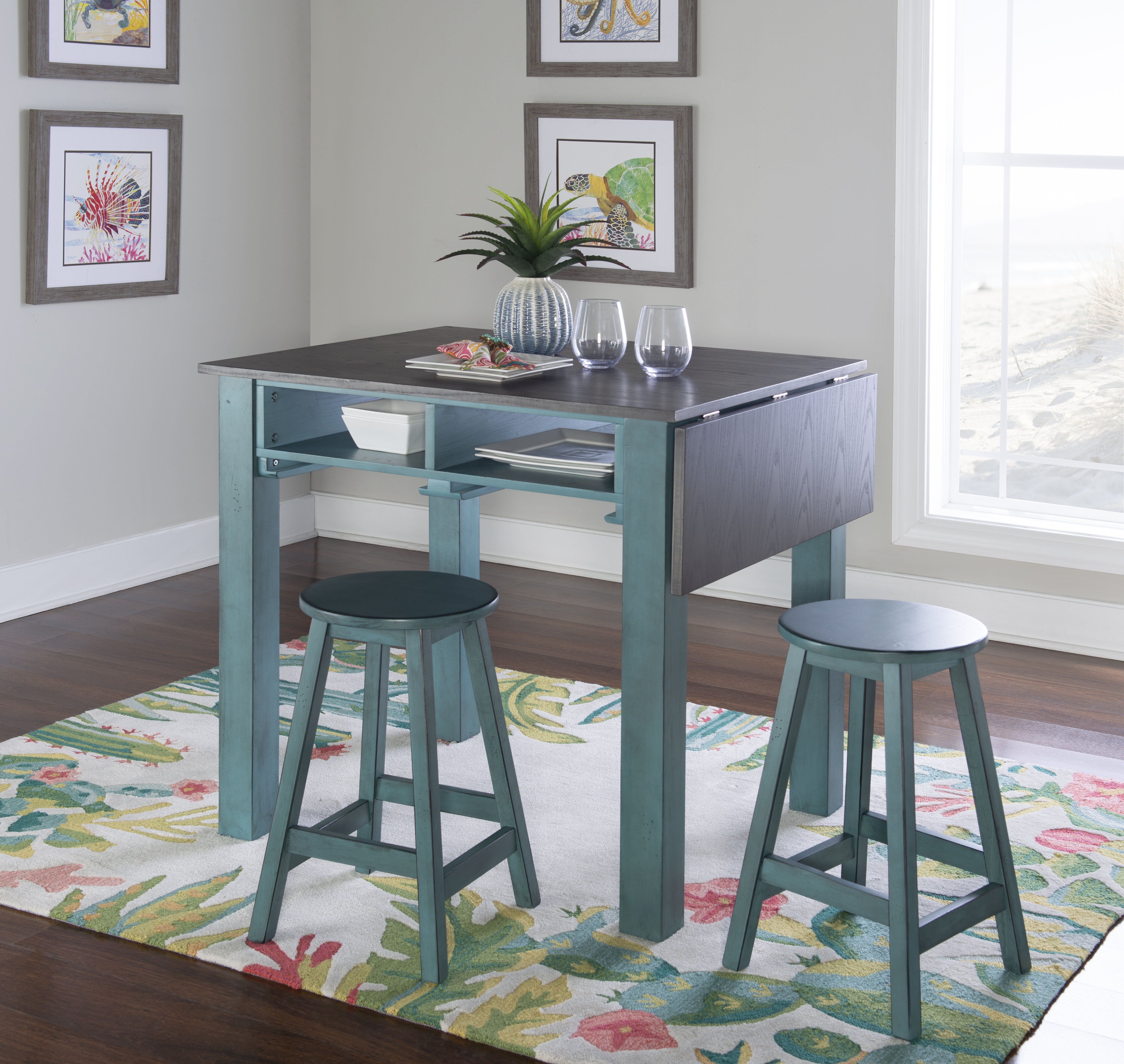 2 Stools Kitchen Islands Carts You Ll Love In 2020 Wayfair