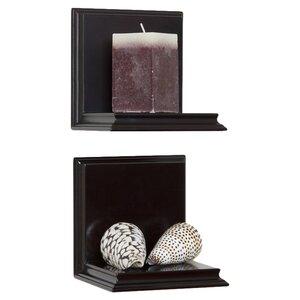 Sconce 2 Wall Shelf Set (Set of 2)