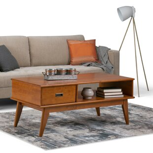 Halvorson Coffee Table with Storage