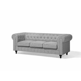 Kelvin 3 Seater Chesterfield Sofa By Rosdorf Park