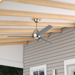 Where buy  56 Parkside 3 Blade Outdoor Ceiling Fan By Wade Logan