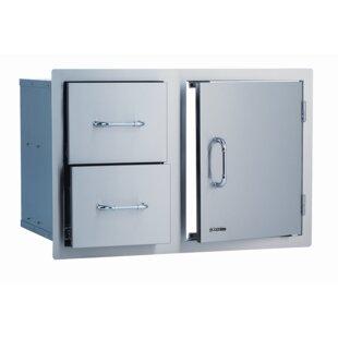 Stainless Steel Door / Cabinet Combo  sc 1 st  Wayfair & Stainless Steel Bbq Doors   Wayfair