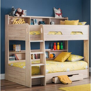 Double Bunk Bed With Desk Wayfair Co Uk