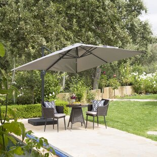 Wardingham 9.8' Square Cantilever Umbrella by Red Barrel Studio