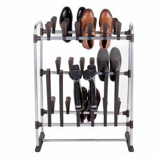 Price Check 3 Tier 24 Pair Shoe Rack By StorageManiac