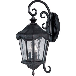 Darby Home Co Aneda 3-Light Outdoor Wall Lantern