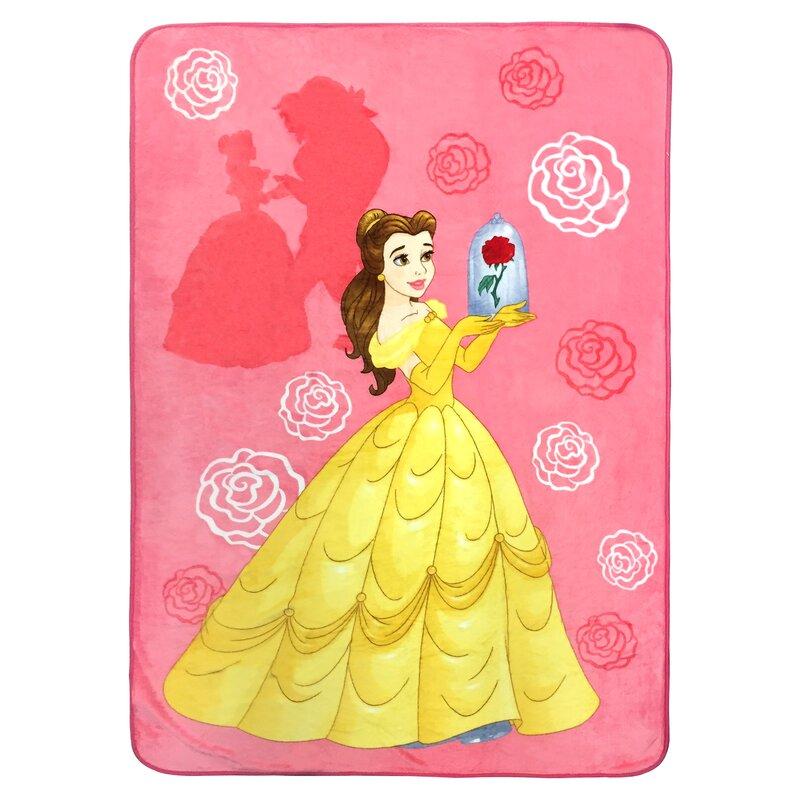 Shopkins Disney Beauty And The Beast Belle 2 Piece Nogginz Blanket Wayfair