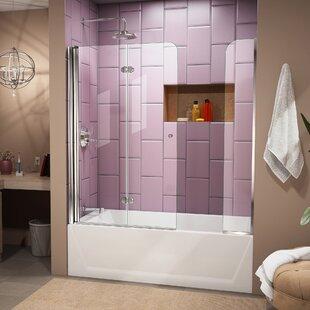 Aqua Fold 60 x 58 Folding Tub Door ByDreamLine