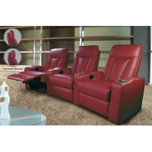 st helena home theater seating row of 3