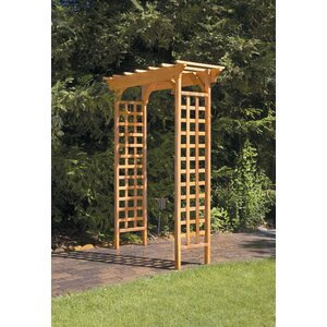Fairchild Garden Wood Arbor