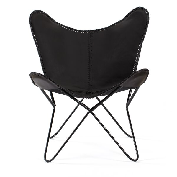 Cowhide Butterfly Chair | Wayfair