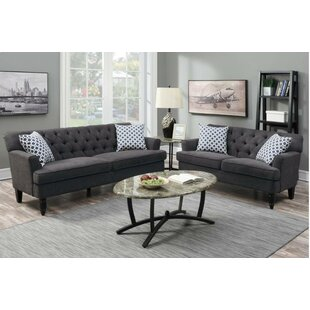 Low priced Kamden 2 Piece Living Room Set by Winston Porter Reviews (2019) & Buyer's Guide