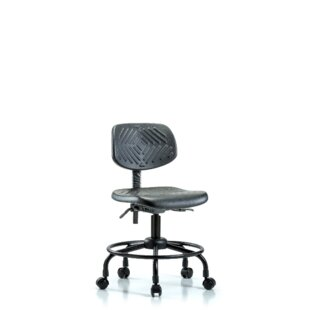 Symple Stuff Melany Round Tube Base Desk Height Office Chair