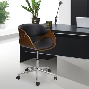 Adeco Trading Low-Back Desk Chair