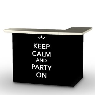 Keep Calm and Party On Bar Set by Best of Times