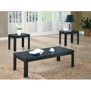 Mateyka 3 Piece Coffee Table Set
