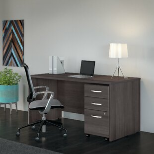 Studio C Computer Desk with Filing Cabinet