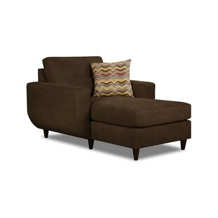 Best Review Gudino Chaise Lounge by Simmons Upholstery by Brayden Studio Reviews (2019) & Buyer's Guide