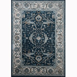 Gloria Blue Area Rug