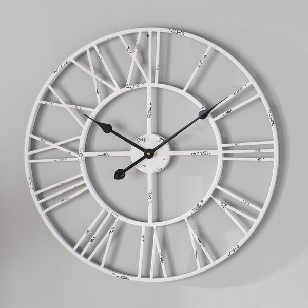 Three Posts Roman Round Wall Clock & Reviews by Three Posts