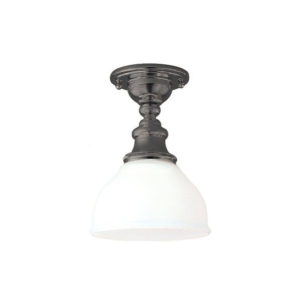 Wasser 1 - Light 7 Simple Dome Semi Flush Mount by Darby Home Co