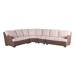 Vicki Sectional With Cushions by Latitude Run Wonderful