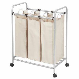 Buy Sale Basic 3 Bag Laundry Sorter