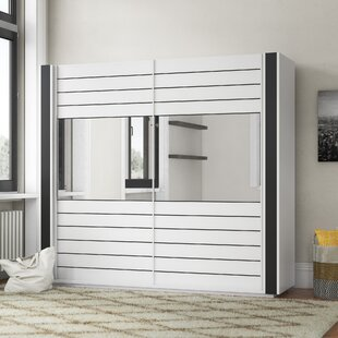 Review Mitzi 2 Door Sliding Wardrobe