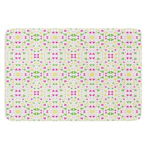 Neon Triangles by Empire Ruhl Bath Mat