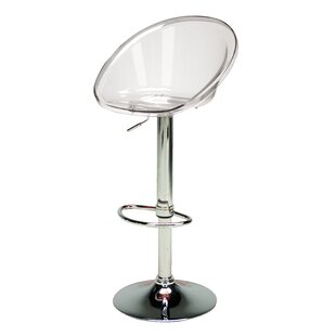 Zuri Height Adjustable Bar Stool By Wade Logan