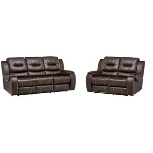Daigre Reclining 2 Piece Living Room Set Red Barrel Studio