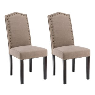 Mourya Upholstered Dining Chair Set of 2