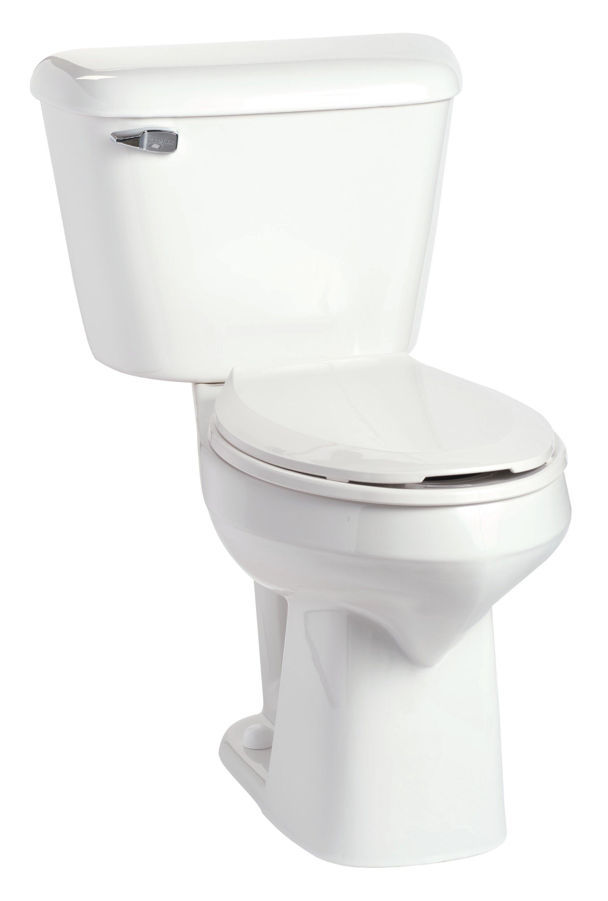 Mansfield Alto SmartHeight 1.6 GPF Elongated Two-Piece Toilet   Wayfair