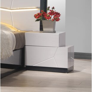 Price comparison Astaire Right Facing Nightstand By Orren Ellis