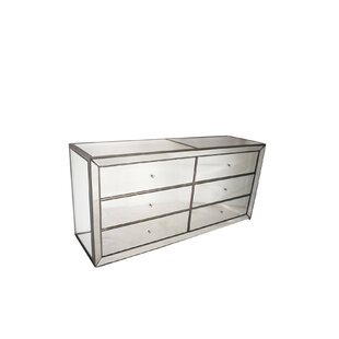 Manuela 6 Drawer Double Dresser