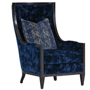 Carlyle Greenwood Wingback Chair