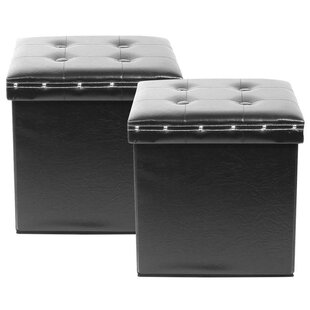 Redfield Tufted Storage Ottoman (Set of 2)