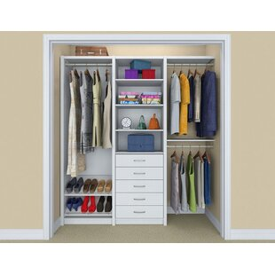 Wall Mounted Closet Systems Youu0027ll Love | Wayfair