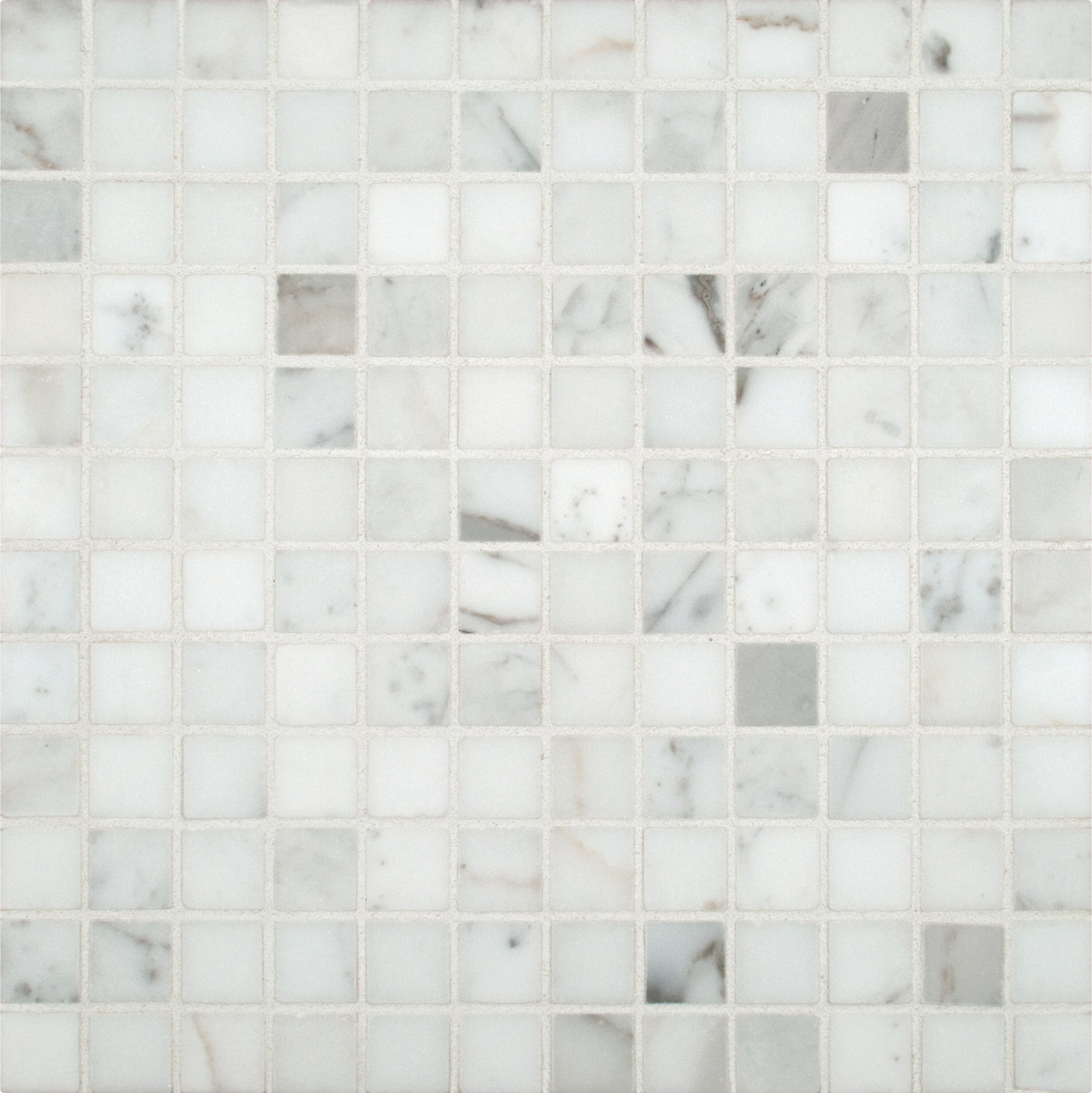 Msi calacatta gold 1 x 1 marble mosaic tile in white reviews msi calacatta gold 1 x 1 marble mosaic tile in white reviews wayfair dailygadgetfo Images
