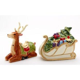 Cannock Christmas 2 Piece Salt and Pepper Set