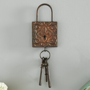 3 Piece Metal Key Wall Décor Set